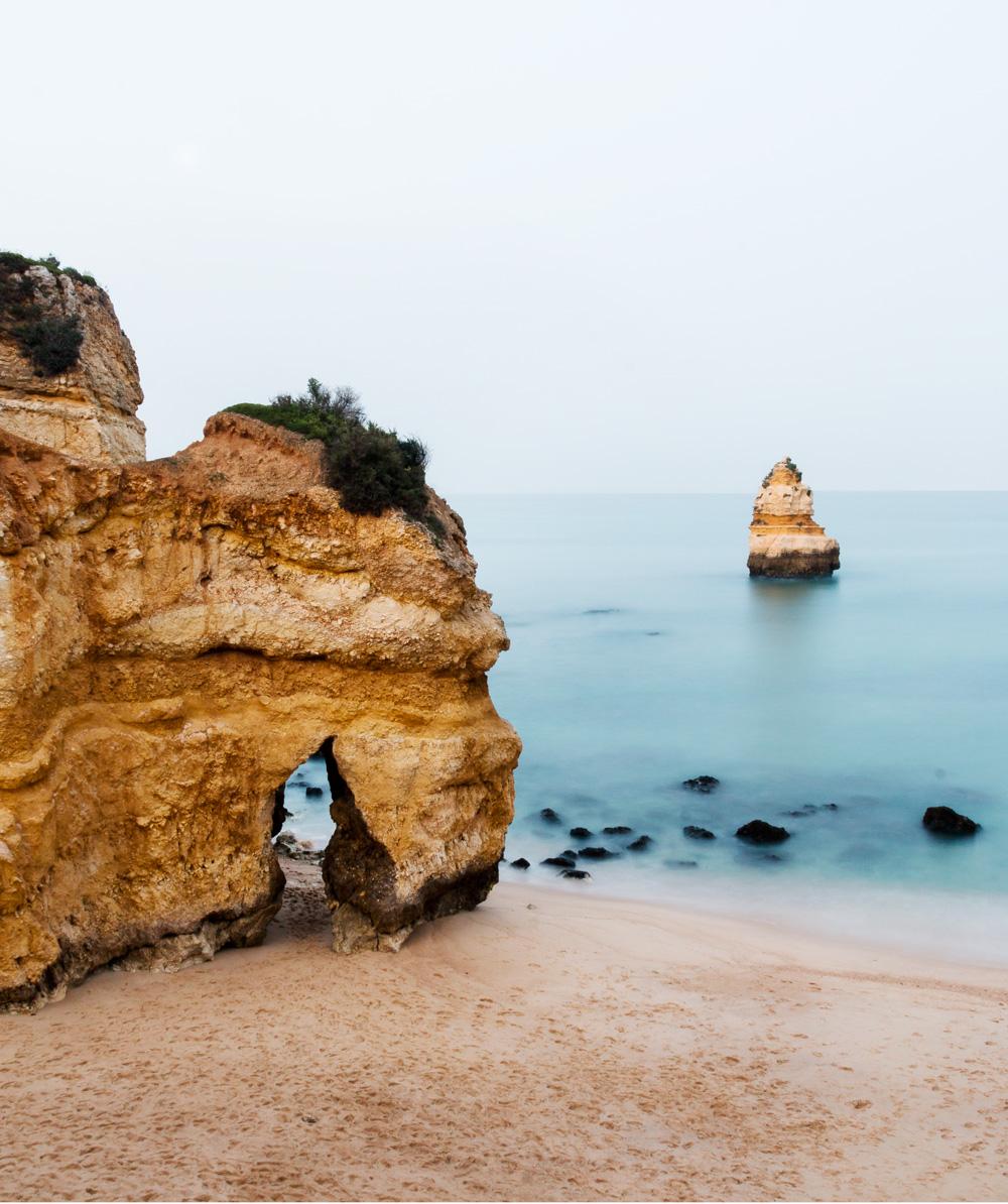 Algarve Lagos Camilo beach smukkeste strande beautiful beaches