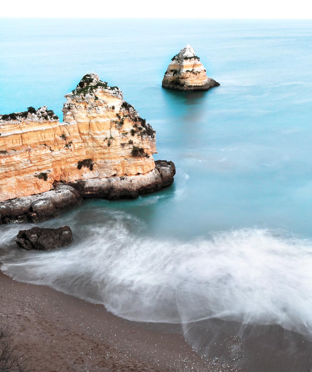 Algarve Lagos Dona Ana smukkeste strande beautiful beaches