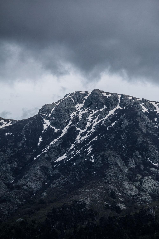Korsika bjerge