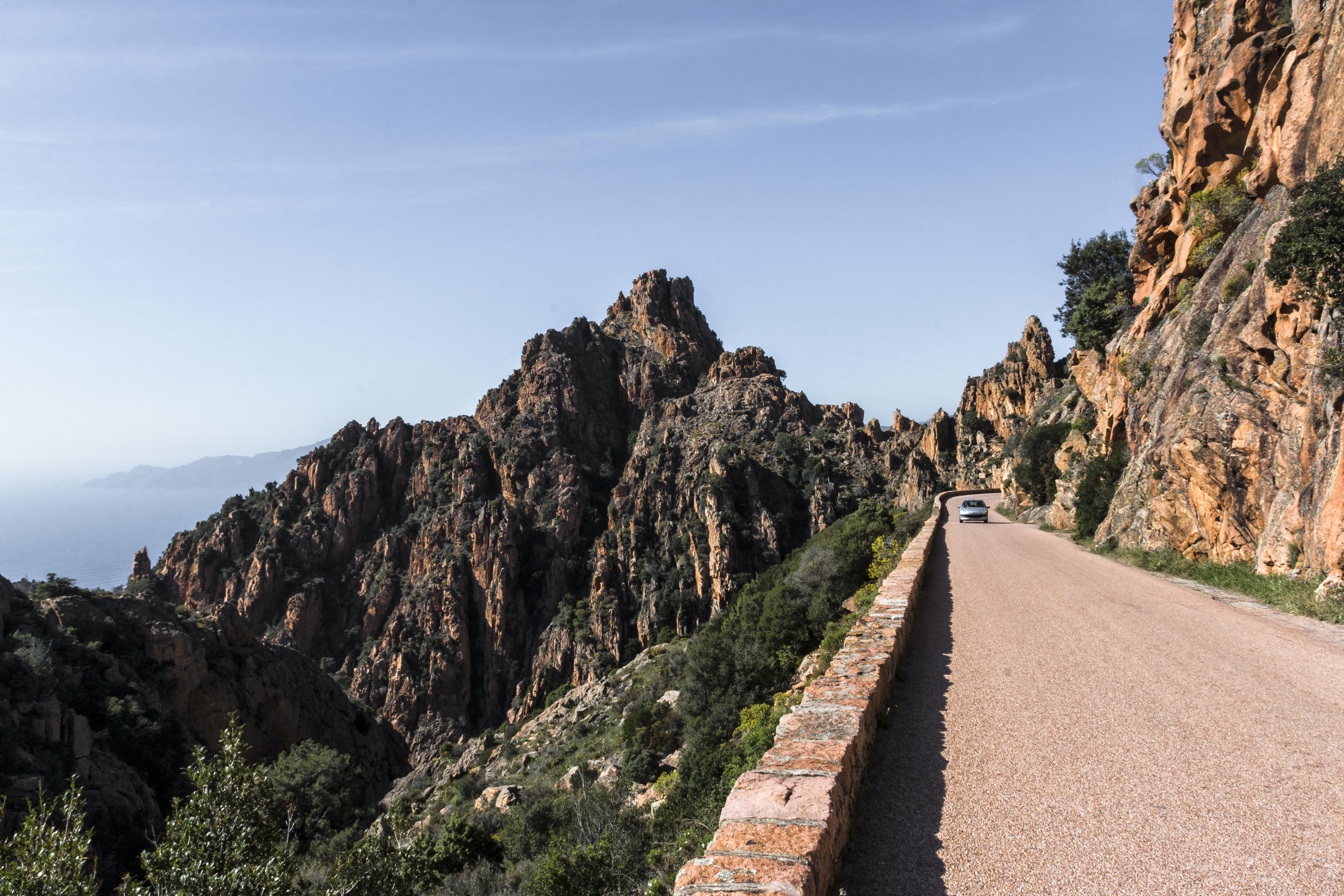 Korsika les calanches