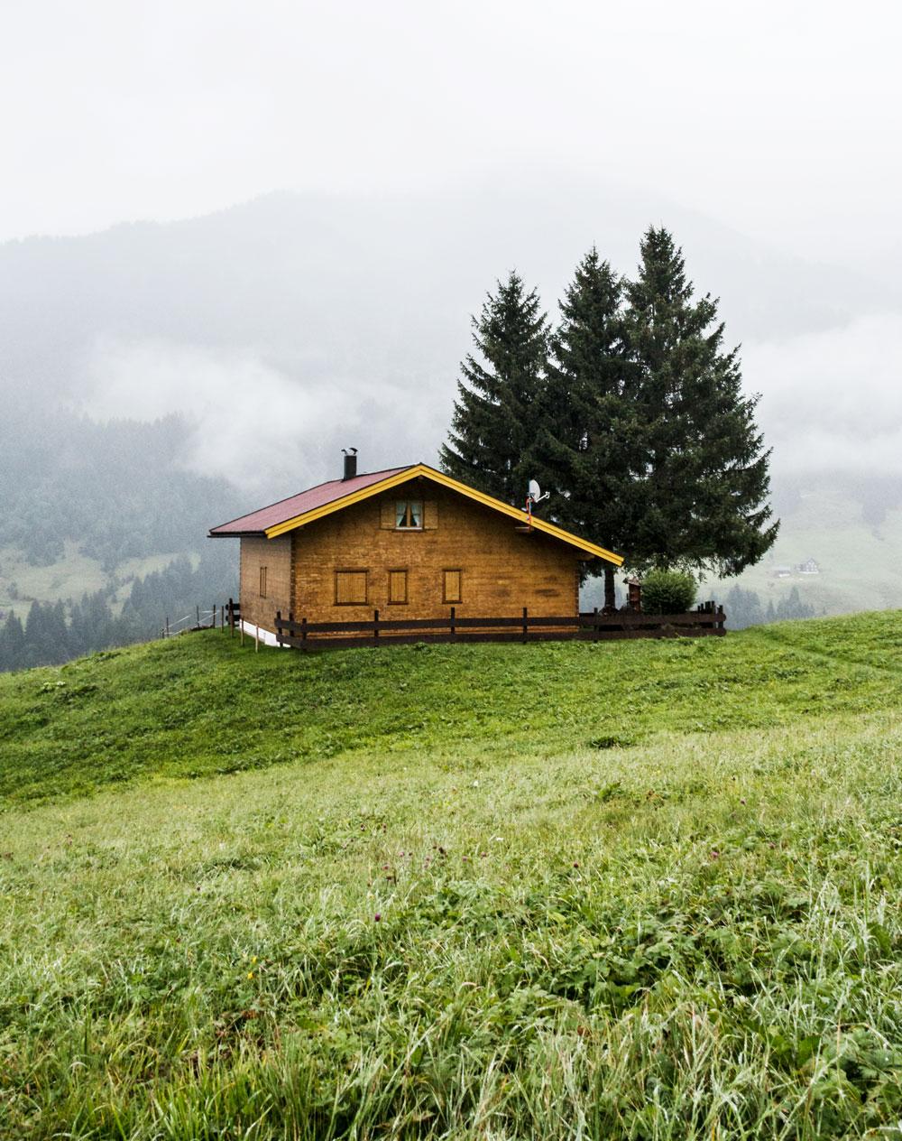 På kulinarisk vandretur i Kleinwalsertal i Østrig