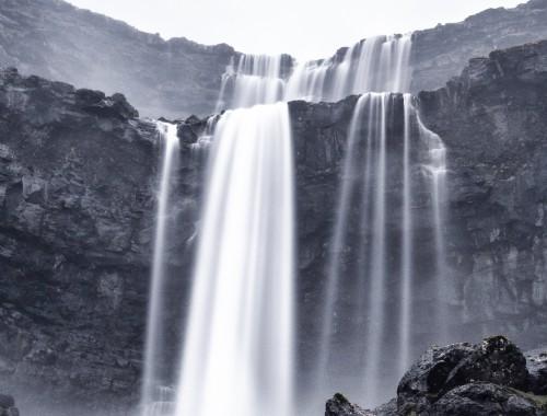 Fossa waterfall - The Faroe Islands - a travel guide