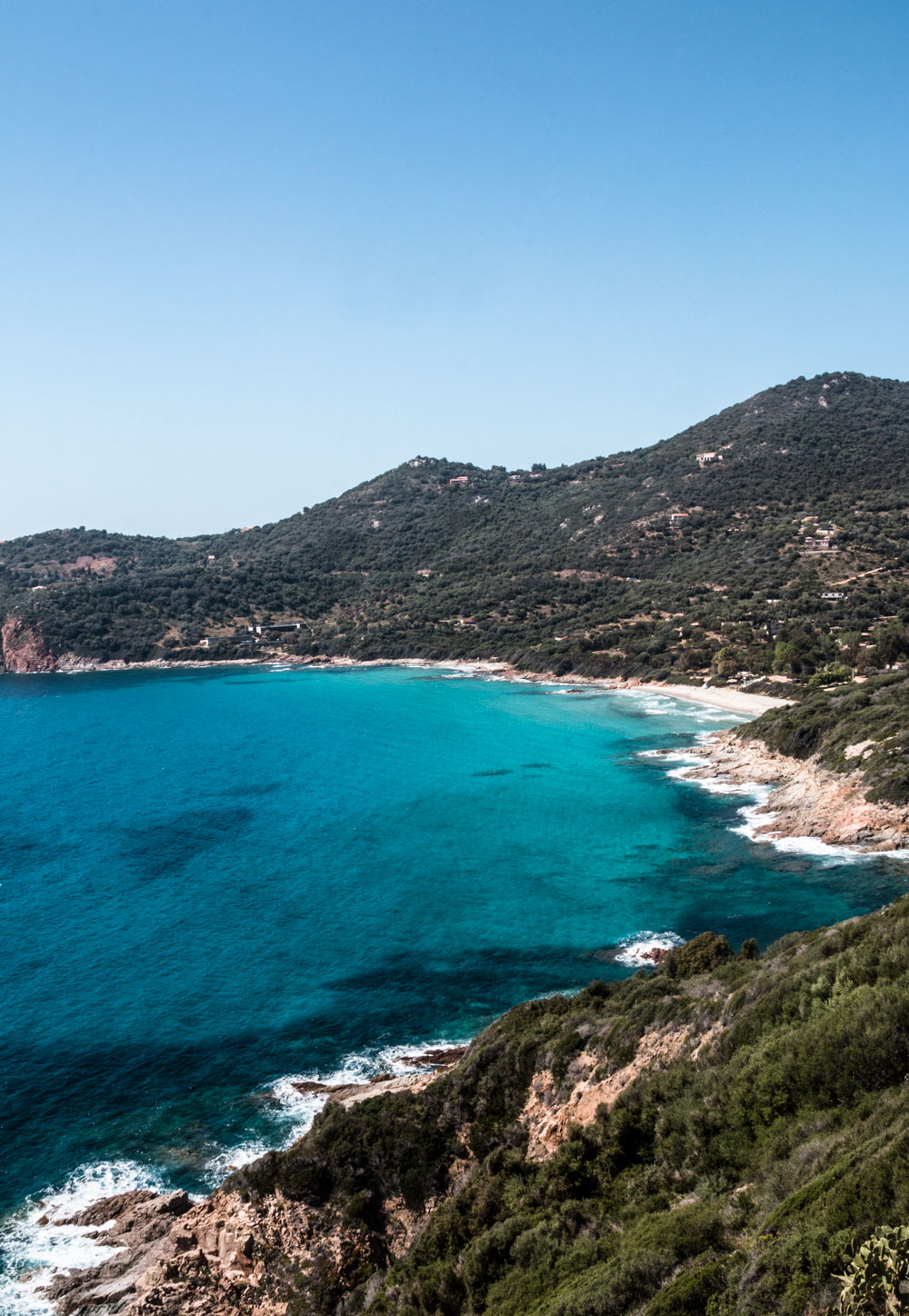 Road trip along the rocky west coast of Corsica