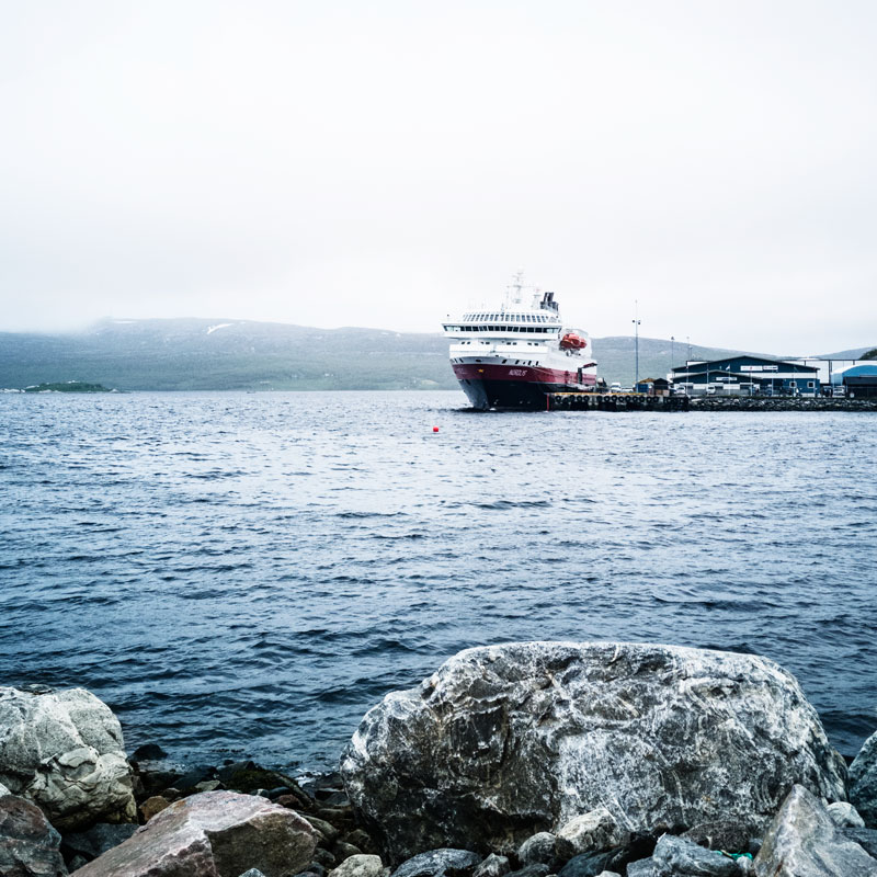 Hurtigruten cruise MS Nordlys in Kirkenes