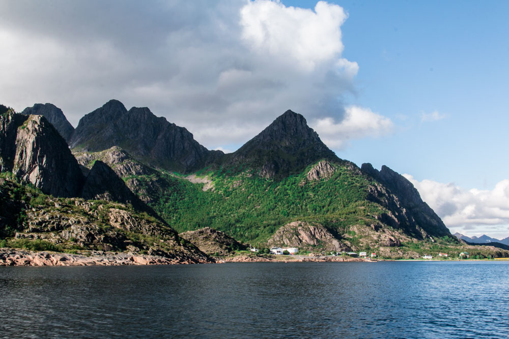 On cruise with Hurtigruten along Norway's coast / Lofoten sea eagle safari