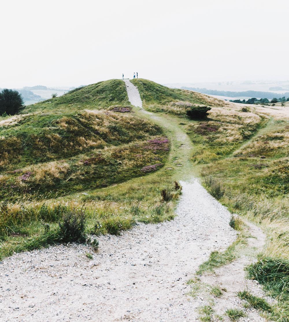 Mols Bjerge Nationalpark Trehøje - naturoplevelser i Nordjylland