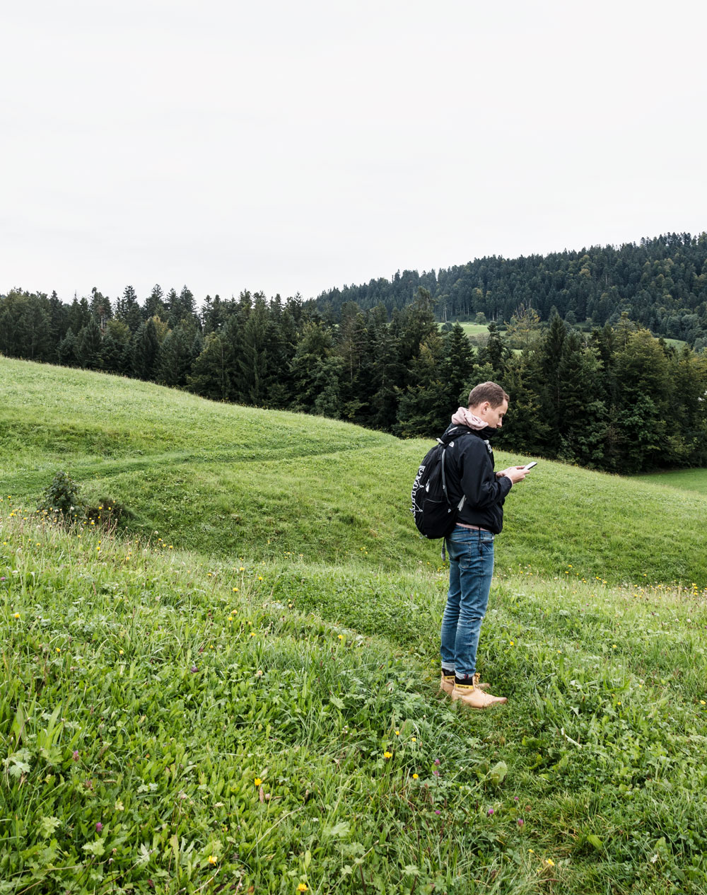 Walking the moors of Krumbach in Austria
