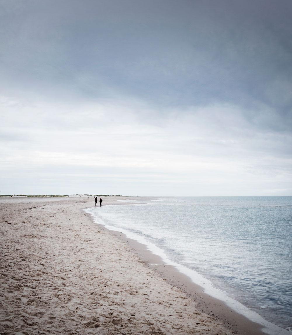 Stranden ved Grenen i Skagen