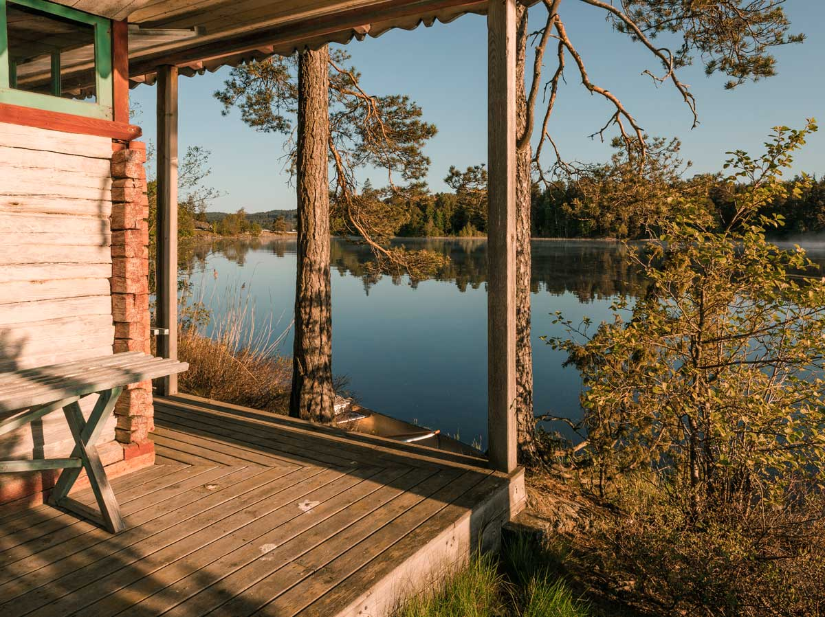 A stay in Småland Sweden on our very own island