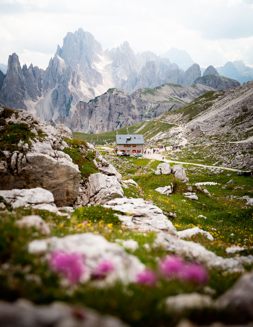 The Dolomites: Hiking around Tre Cime Di Lavaredo