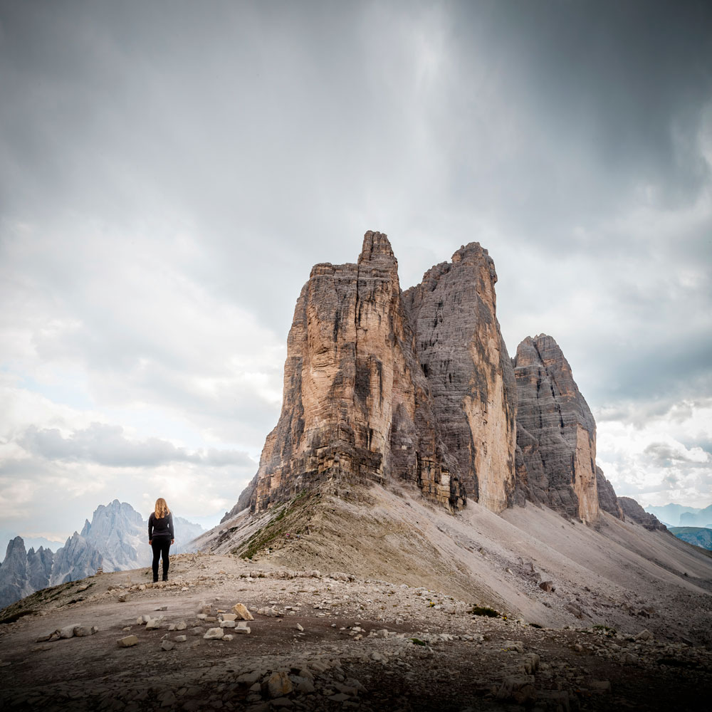 Hiking around Tre Cime Di Lavaredo in the Dolomites