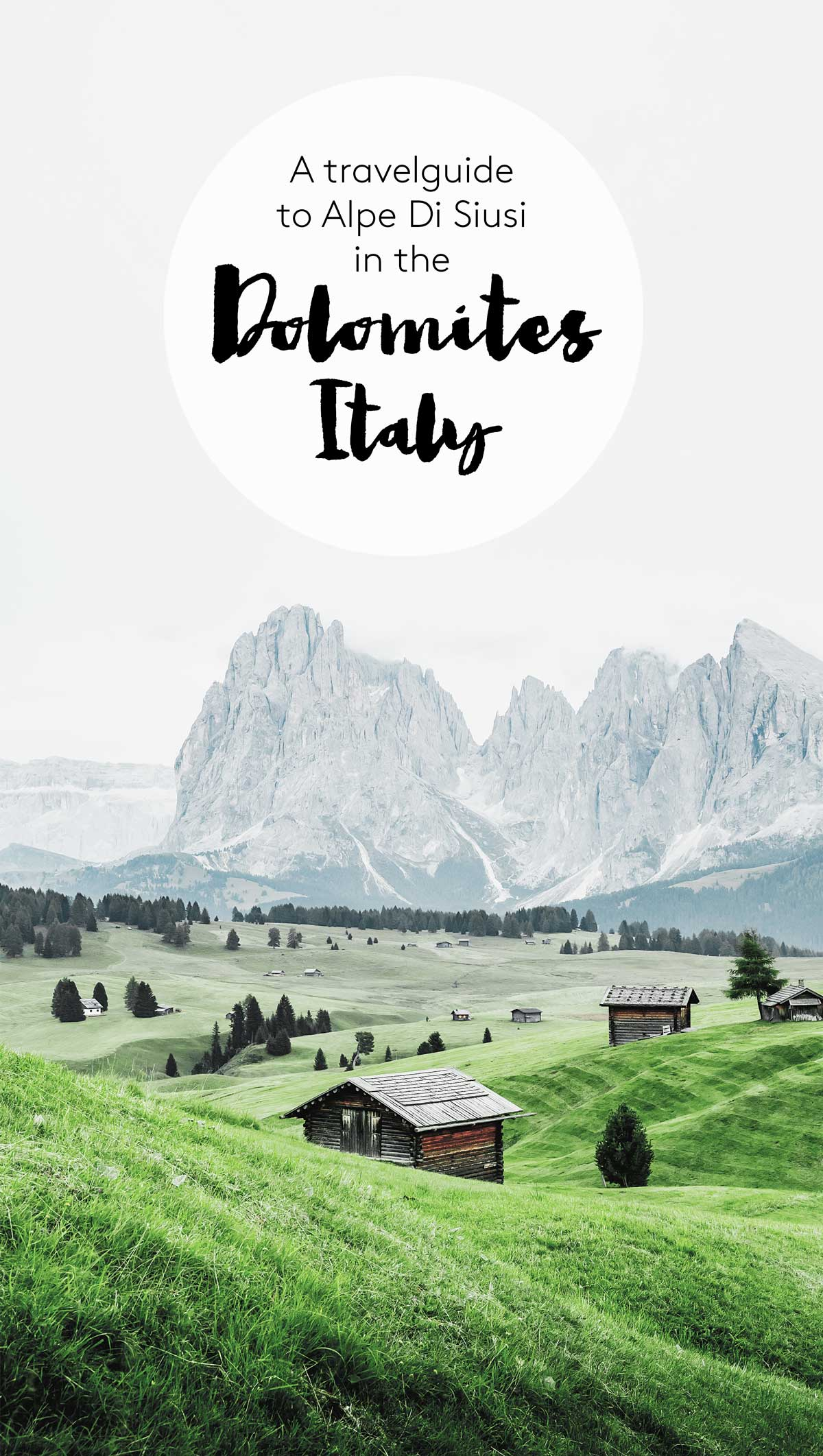 The Dolomites: Hiking on Alpe Di Siusi / Seiser Alm