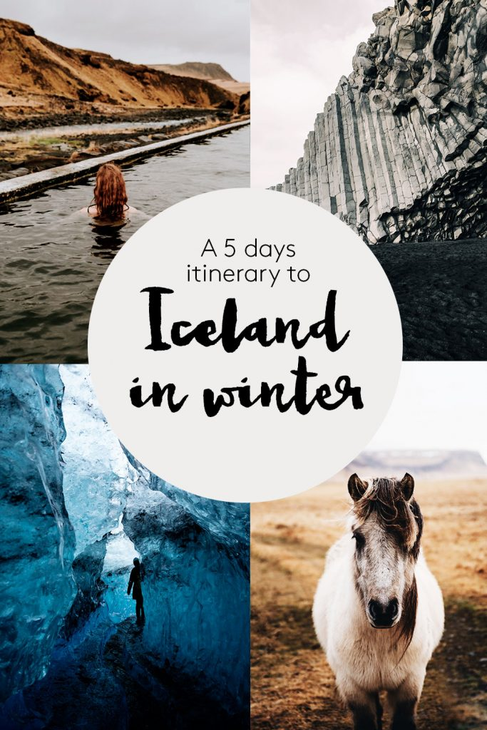 A 5 days itinerary to South Iceland in winter – northern lights, hot pools and ice caves