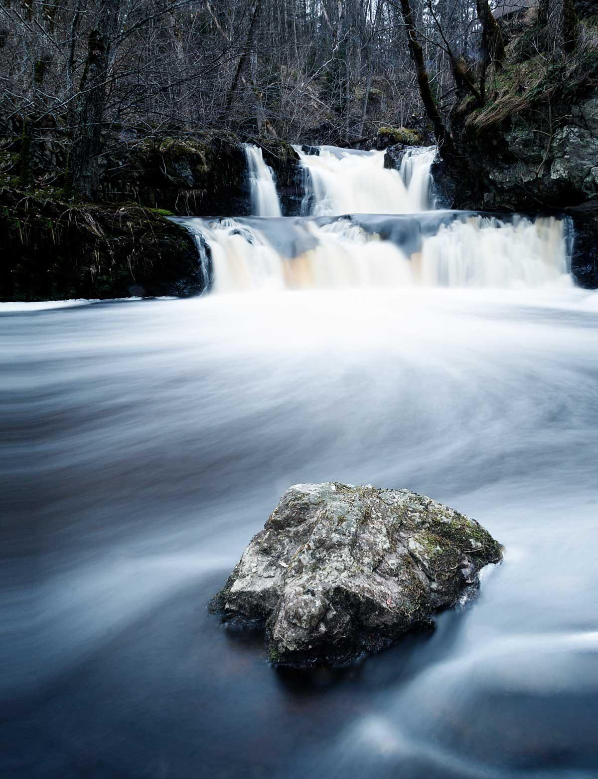 Hallamölle Vandfald - Skånes højeste vandfald