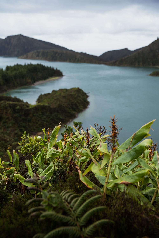 Azorerne - en rejseguide / Ildsøen (Lagoa Do Fogo)