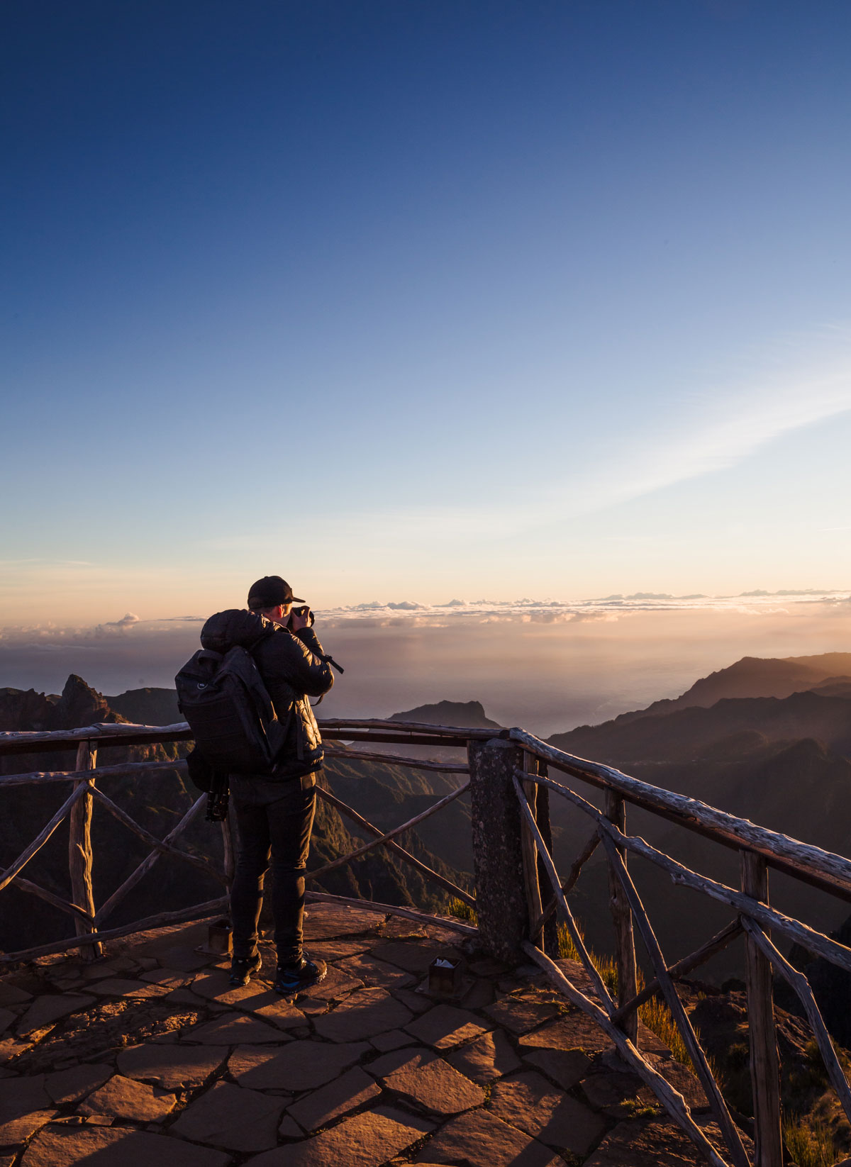 Madeira seværdigheder / Pico do Arieiro