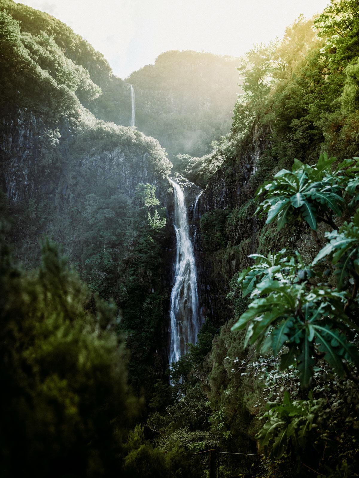 Risco vandfaldet Madeira