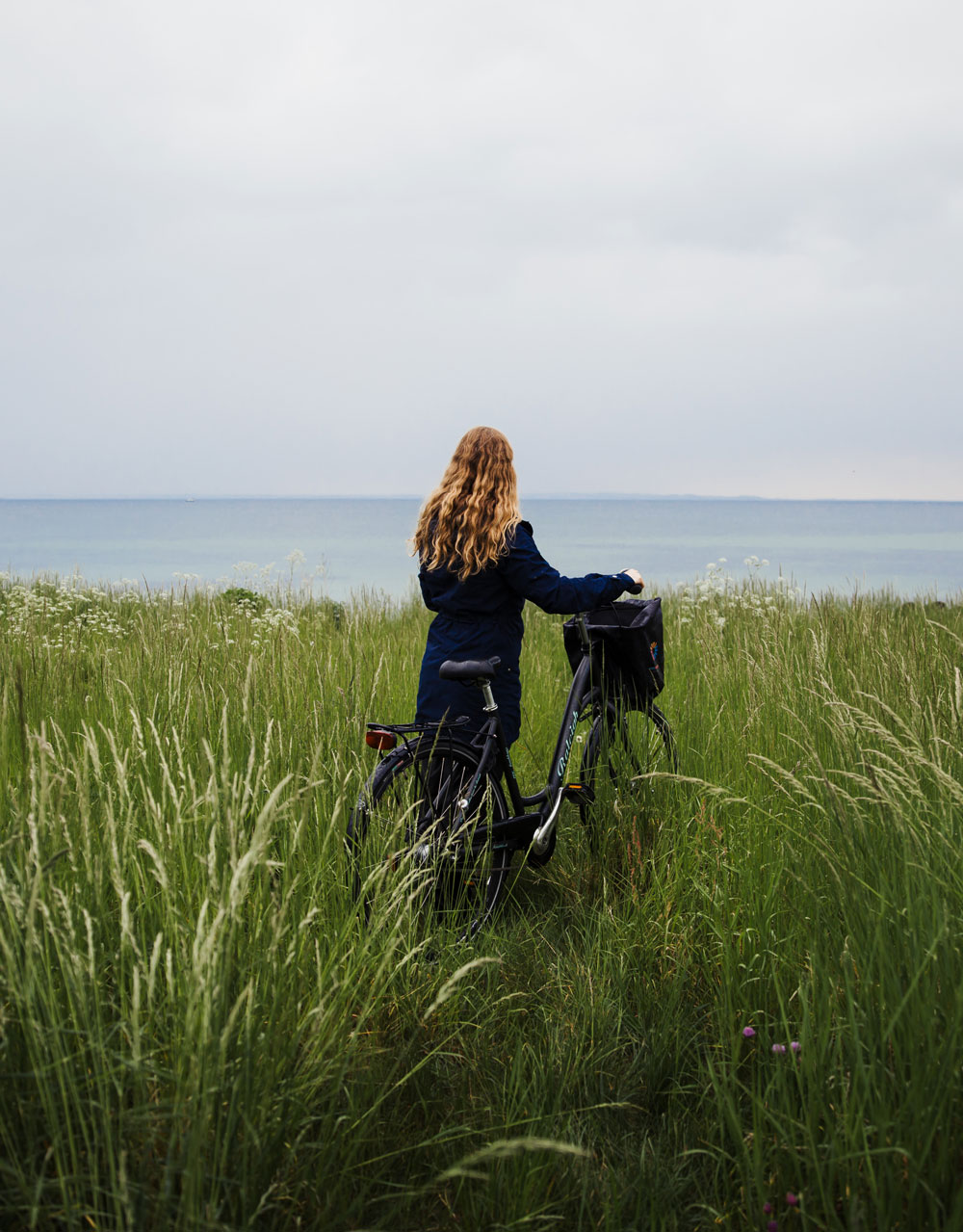 Cycling holiday in Denmark - along the north coast trail near Copenhagen