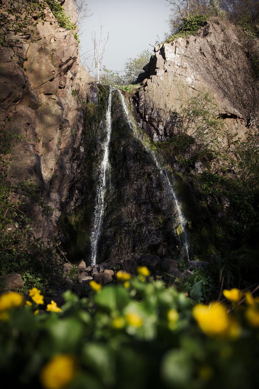 Pissebækken vandfald Bornholm