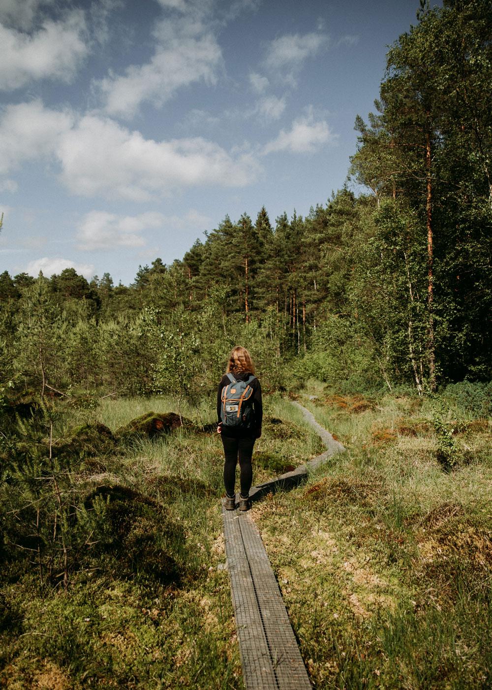 Vandring i Skåne: Naturområdet Hovdala