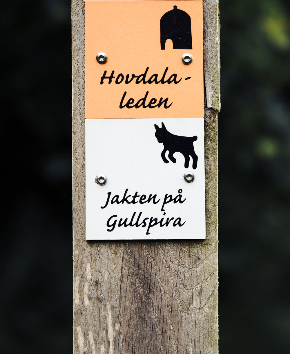Hiking in Skåne: Hovdala nature area - jakten på Gullspira