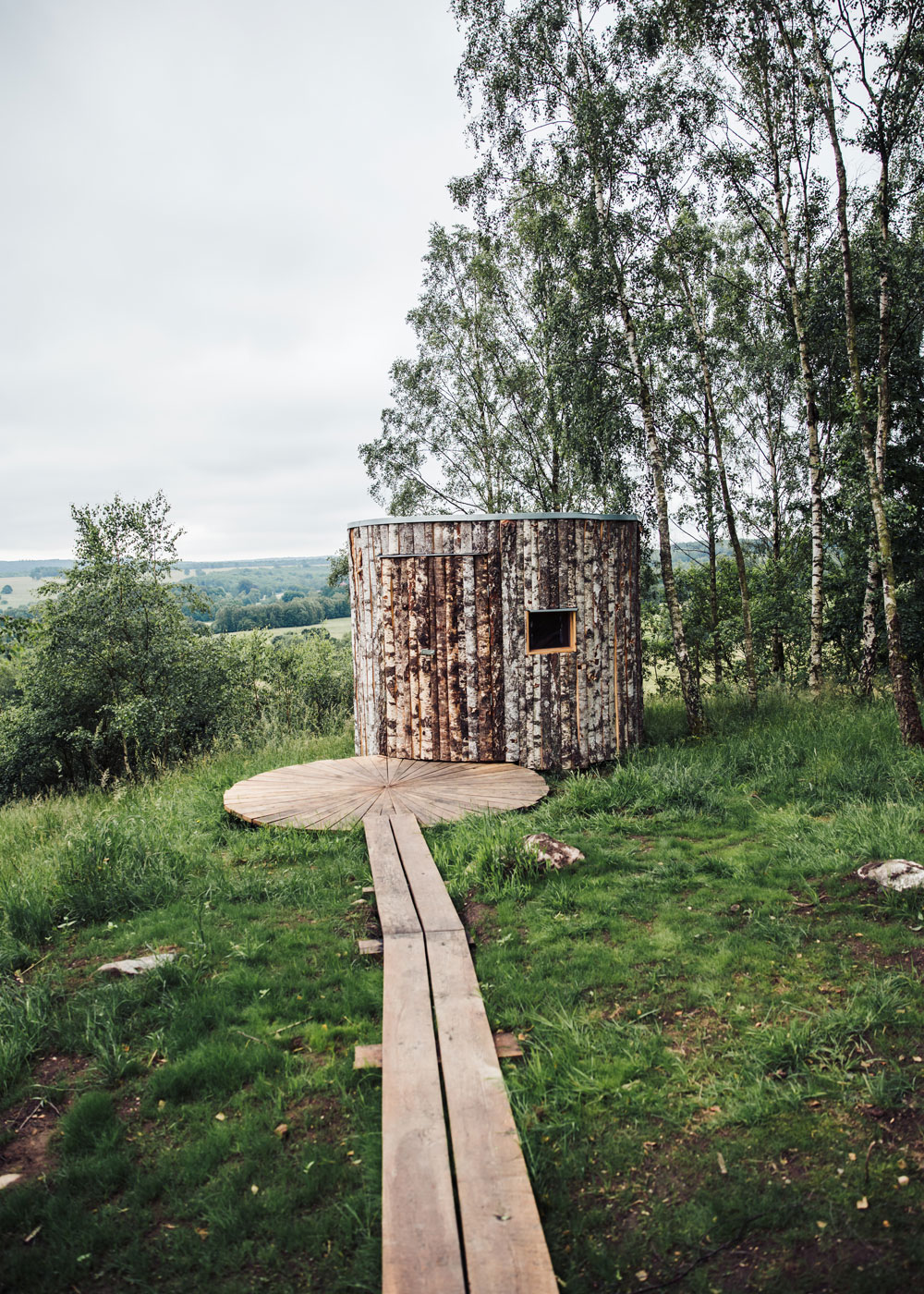 Hovdala nature area / the shelter Birka