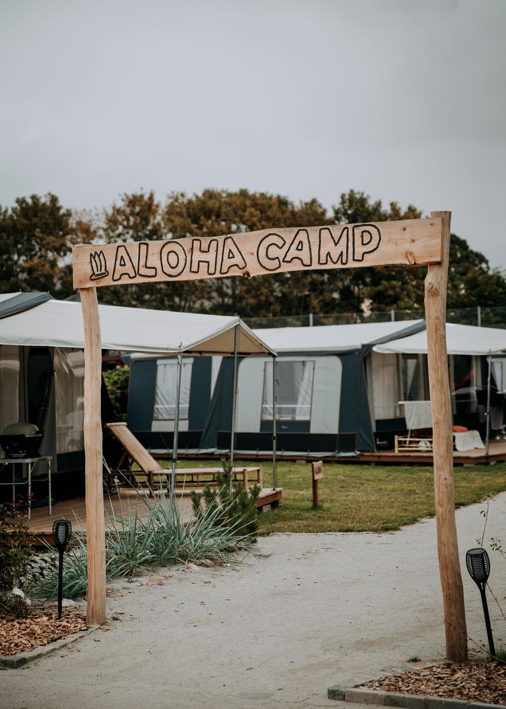 Aloha Camp Bogensen Strand Camping