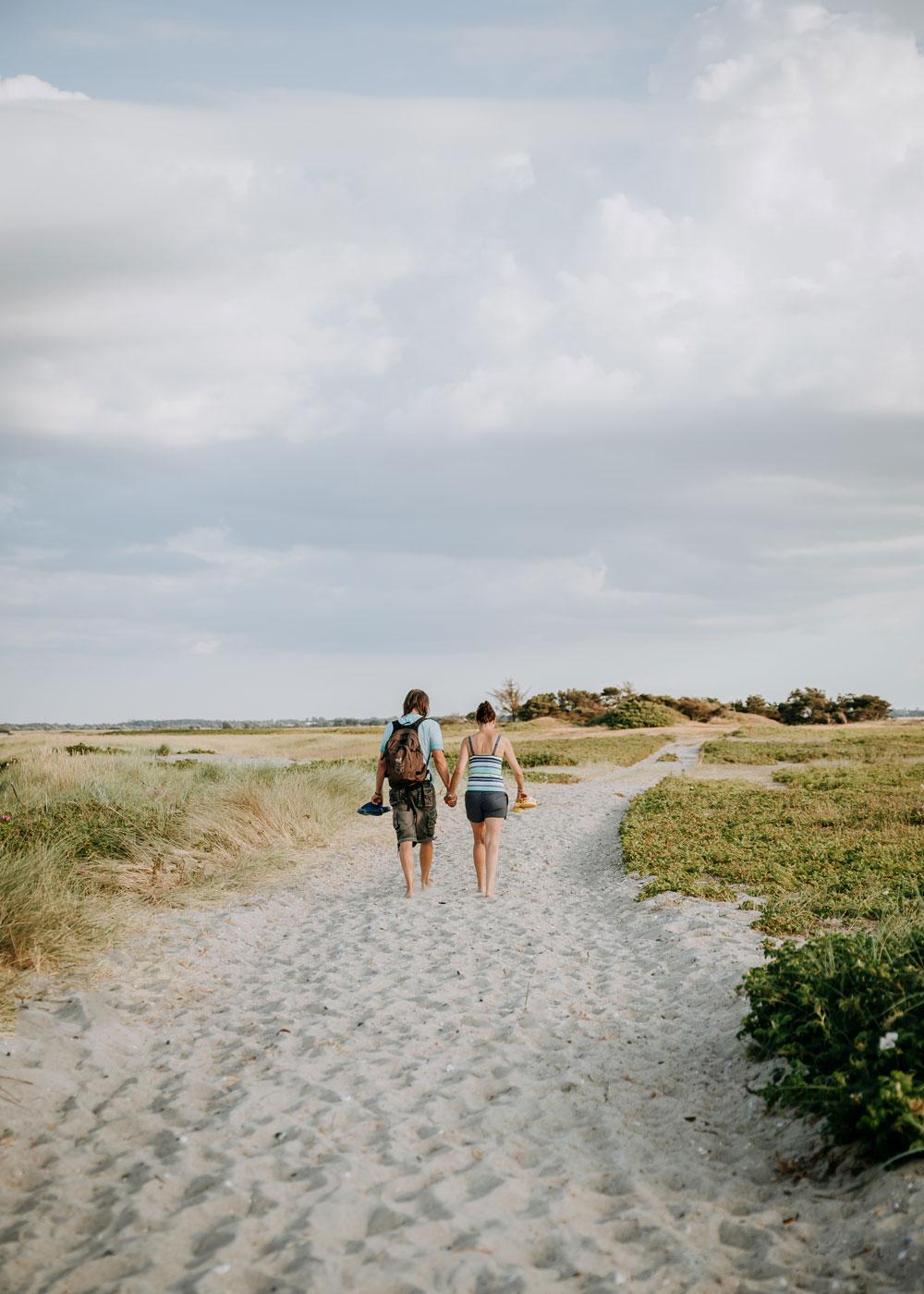 vandreture og skønne naturseværdigheder på Nordfyn / Æbelø
