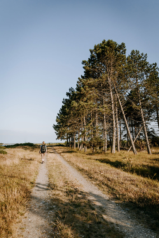 Glamping, vandreture og skønne naturseværdigheder på Nordfyn
