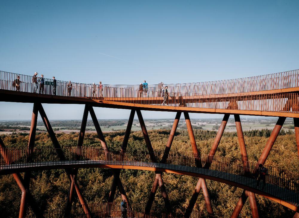 Skovtårnet - Sjællands nye seværdighed