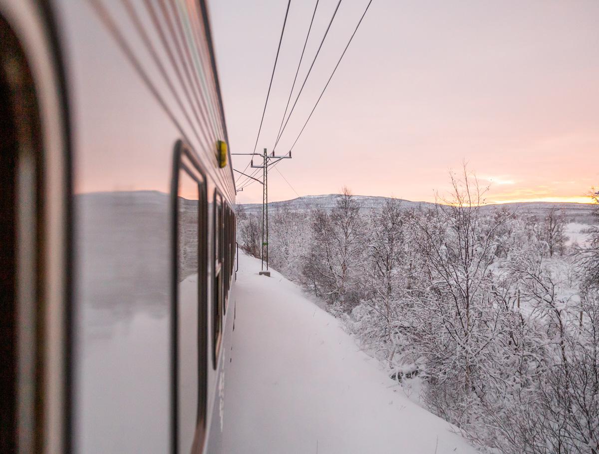 Med toget til Abisko