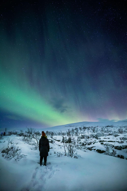 På nordlyssafari i Tromsø