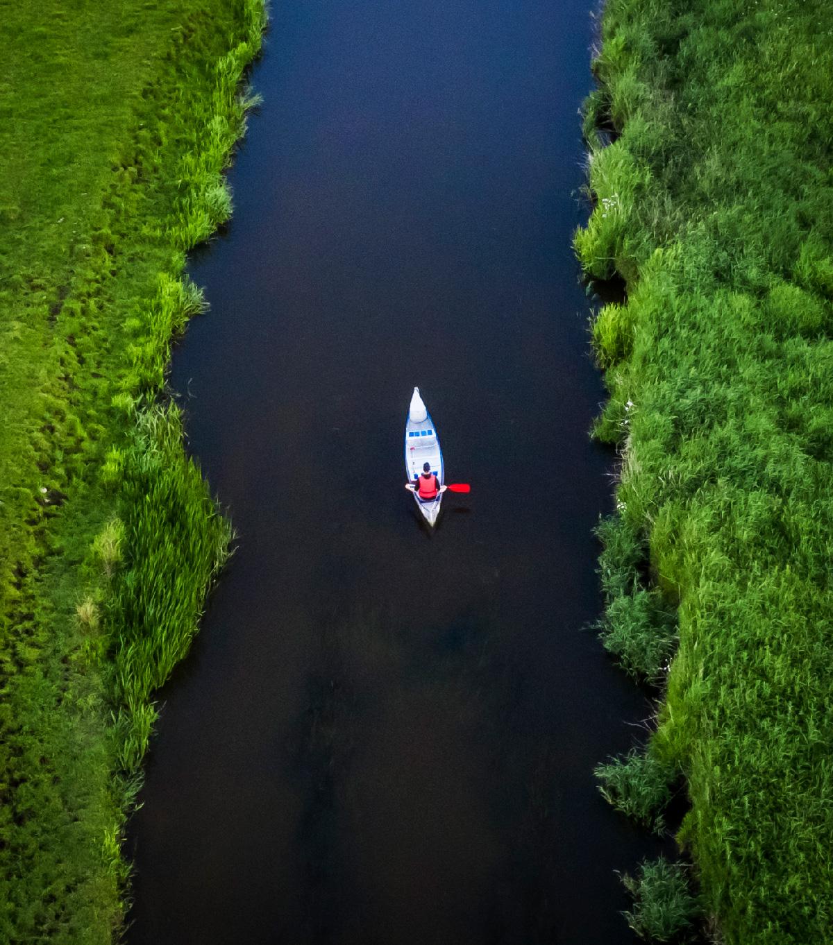 Kanotur på Kongeåen - Vejen