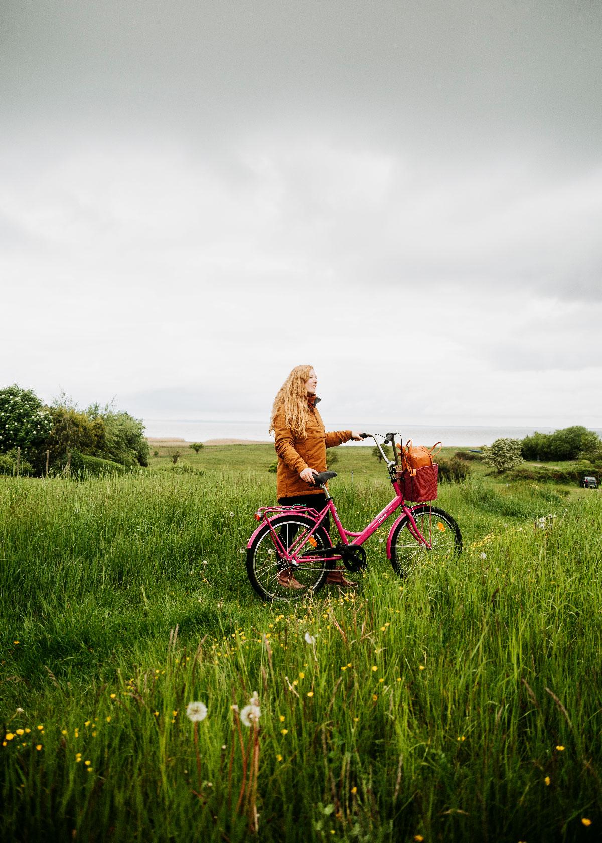 Fjordstien på cykel