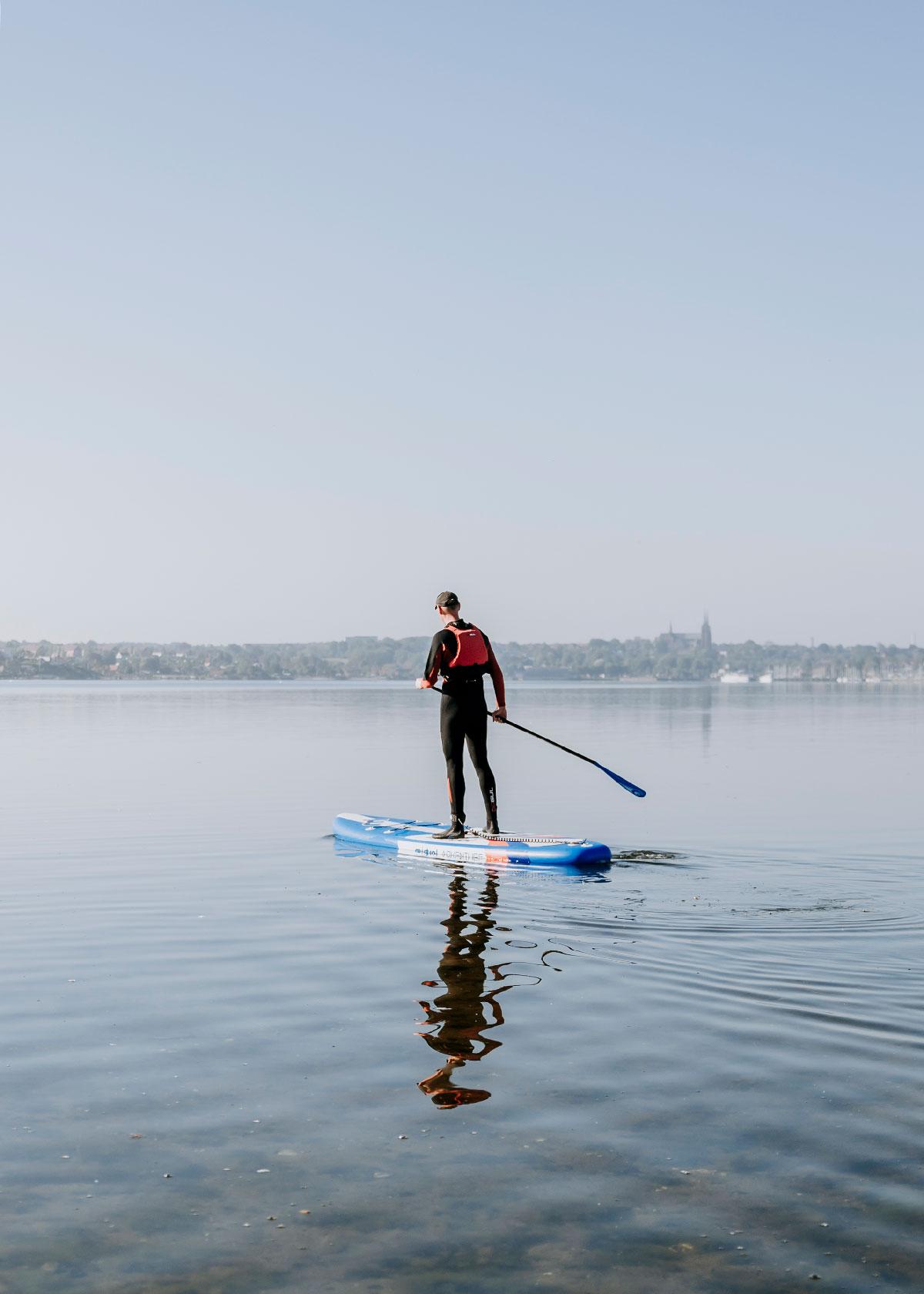 Paddle Board på Roskilde Fjord