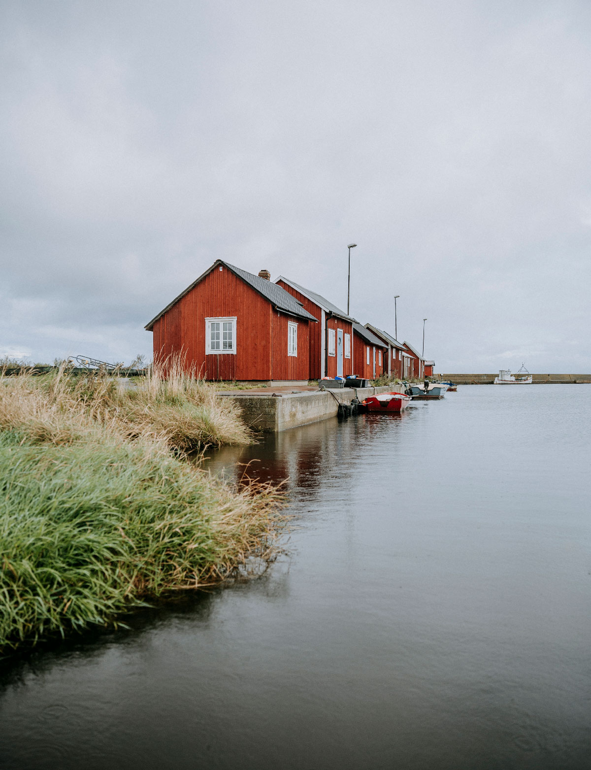 Gräsgårds fiskehamn på Öland